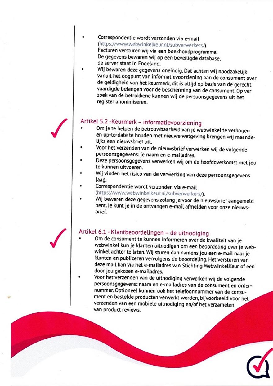 Verwerkinsovereenkomst van Webwinkelkeur_5