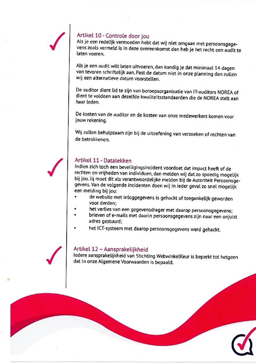 Verwerkinsovereenkomst van Webwinkelkeur_9