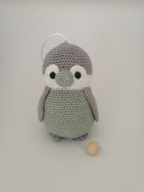 Muziekdoosje pinguin Pepe  mint