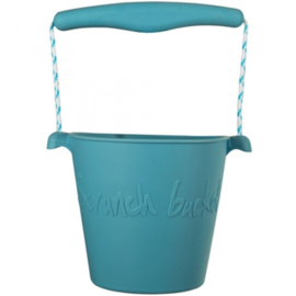 SCRUNCH BUCKET EMMER  & SCHEPJE TWILIGHT BLUE