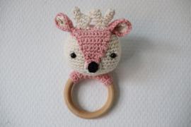 Rammelaar Bambi  Roze