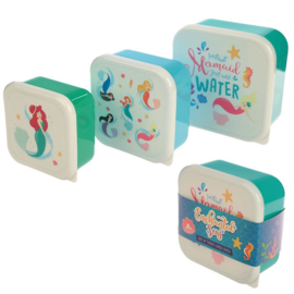 Lunchboxen set - Zeemeermin Mermaid
