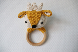 Rammelaar Bambi Okergeel