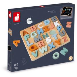 Janod Alfabet puzzel & krijtbord - Sweet Cocoon