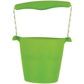 Scrunch Bucket Emmer Groen  & Schepje