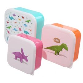 Lunchboxen set - Dino