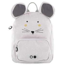 Rugzak Backpack Mrs. Mouse Lila-Grijs