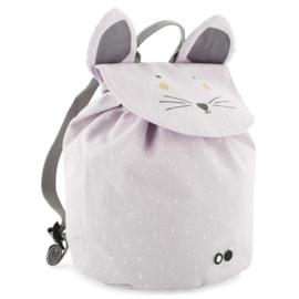 Rugzak  Backpack Mini Mrs. Mouse Lila Grijs