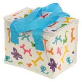 lunchbox/ koeltas Ballondiertjes