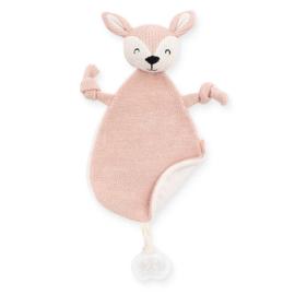 Knuffeldoekje Hertje - Deer Pale Pink