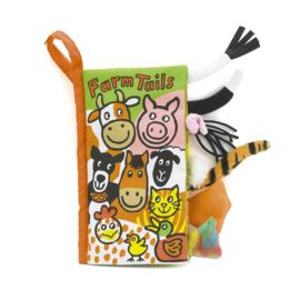 Jellycat Staartenboek de boerderij