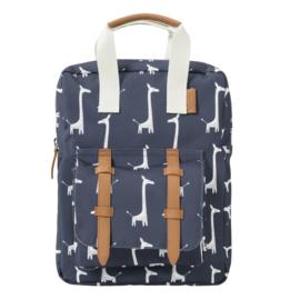Fresk rugzak giraf - donker blauw