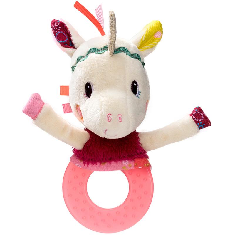 Lilliputiens rammelaar / bijtring unicorn  Louise