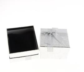 Cadeauverpakking grijs armband