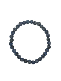 "Dames armband natuurstenen ""blauw/grijs"""