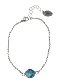 "Moon ""blue"" armbandje"