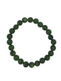 "Dames armband natuurstenen ""classic groen"""