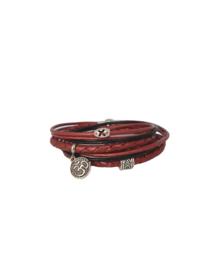 Wikkelarmband morrocan red
