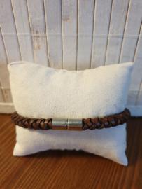 Gevlochten armband 6mm