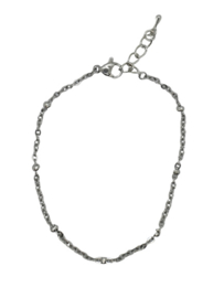 RVS armbandje zilver 2.4mm