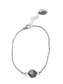 "Moon ""grey"" armbandje"
