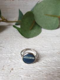 Ring blauw 12mm