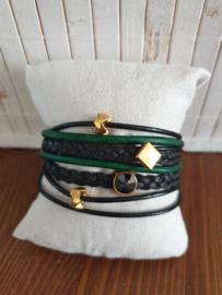 Groen/zwart goud