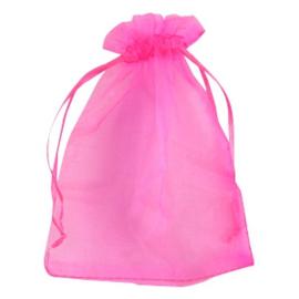 Organza (roze) 9x13mm