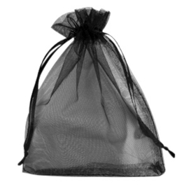 Organza (zwart) 13x18mm