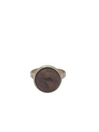 Rood stonelook (mat)