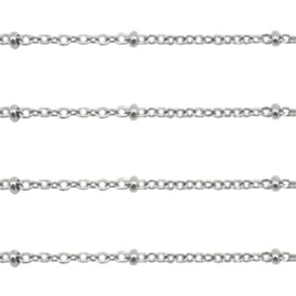 RVS ketting 1.4mm