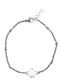 RVS armbandje zilver 1.4mm 🍀
