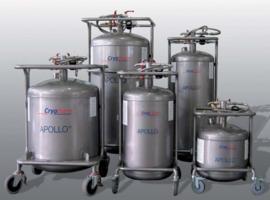 Apollo 150, dewar voor 150 liter vloeibare stikstof