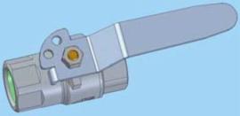 "D32509 vergrendelbaar - G1/4"" (zuivere gassen)"