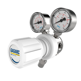 LGS500, drukregelaars voor zuivere gassen, instelbaar tot 10 bar