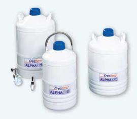 Alpha 10, vat voor 12,2 liter vloeibare stikstof