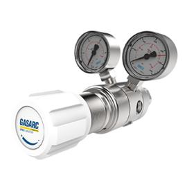 HPT620, tweetraps drukregelaars voor hoogzuivere gassen, instelbaar tot 50 bar