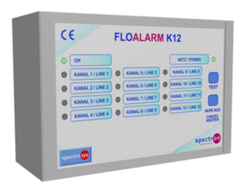 K12 alarmkast voor cilinderdrukbewaking