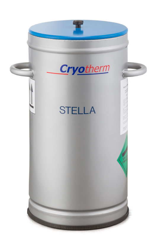 Stella 85-205 - voor 1,16 liter vloeibare stikstof