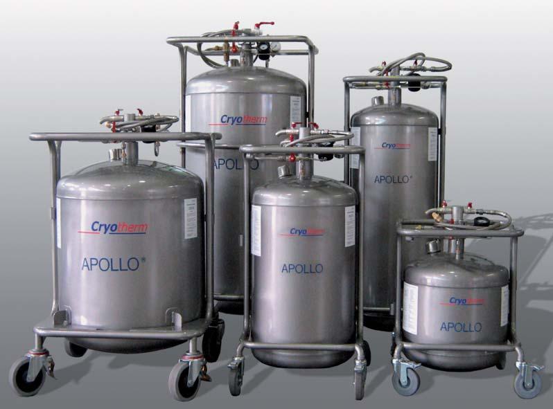 Apollo 100, dewar voor 100 liter vloeibare stikstof