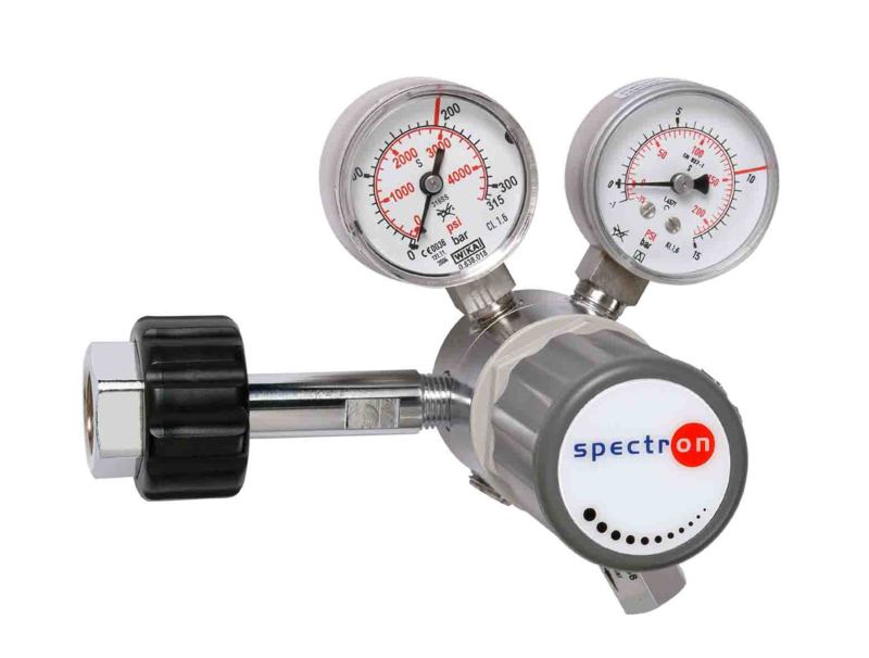 Cilinderdrukregelaar voor 300 bar cilinders - SpectroLab FM51