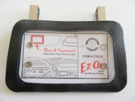 VINTAGE REGISTRATION HOLDER