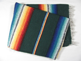 MEXICAN RIO BRAVO BLANKET HUNTER'S GREEN