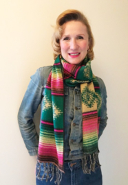 SCARF SOUTHWEST STYLE GREEN