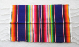 MEXICAN SERAPE PLACEMAT / TAFELMAT. PAARS