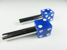 DOORKNOBS DICE BLUE