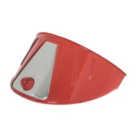 HEADLIGHT VISOR RED