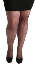 PANTY FISHNET BLACK. OOK IN PLUS SIZE
