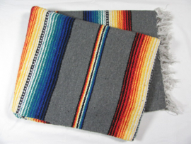 MEXICAN RIO BRAVO BLANKET GREY