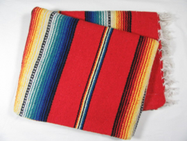 MEXICAN RIO BRAVO BLANKET RED